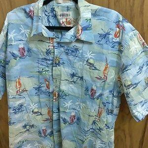 Campia moda Hawaiian shirt (A-4)